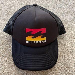 Billabong Adjustable Trucker Hat great condition